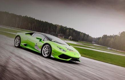 Jazda Lamborghini Huracan na torze
