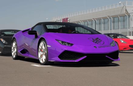 Co-drive Lamborghini Huracan