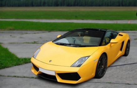 Jazda Lamborghini - prezent w postaci jazdy na torze