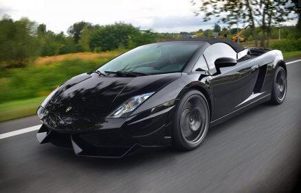 Lamborghini Gallardo - jazda ulicami miast