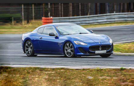 Jazda Maserati GranTurismo po torze