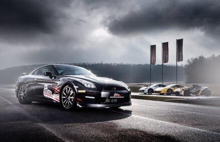 Jazda Nissanem GTR na torze - 5 okrążeń