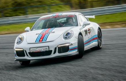 Jazda Porsche po Torze Poznań