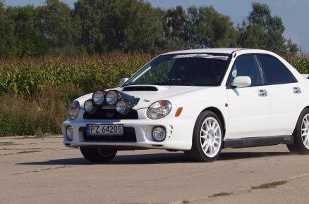 Rajdowa jazda Subaru Impreza WRX (4 km)