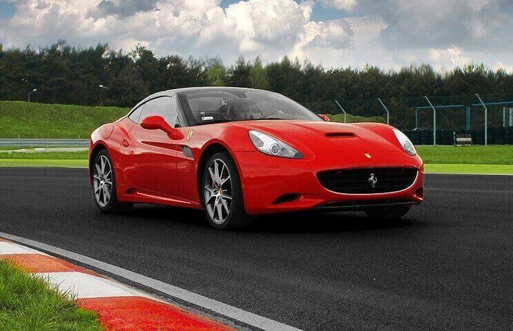 Jazda Ferrari California