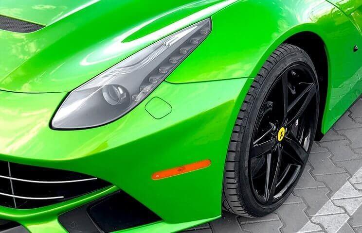Ferrari F12 Berlinetta - jazda na torze wyścigowym