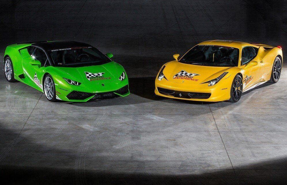 jazda na torze wyścigowym najlepszymi autami