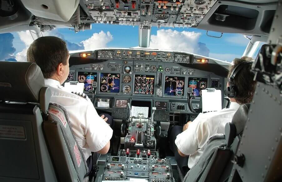 Nauka latania w awionetce