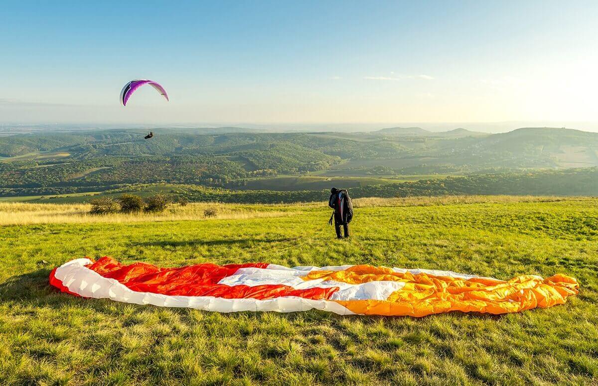 Naucz się latać na paralotni - kurs