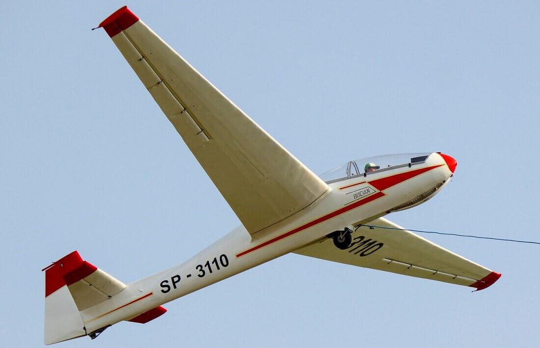 Lot nad Częstochową - szybowce
