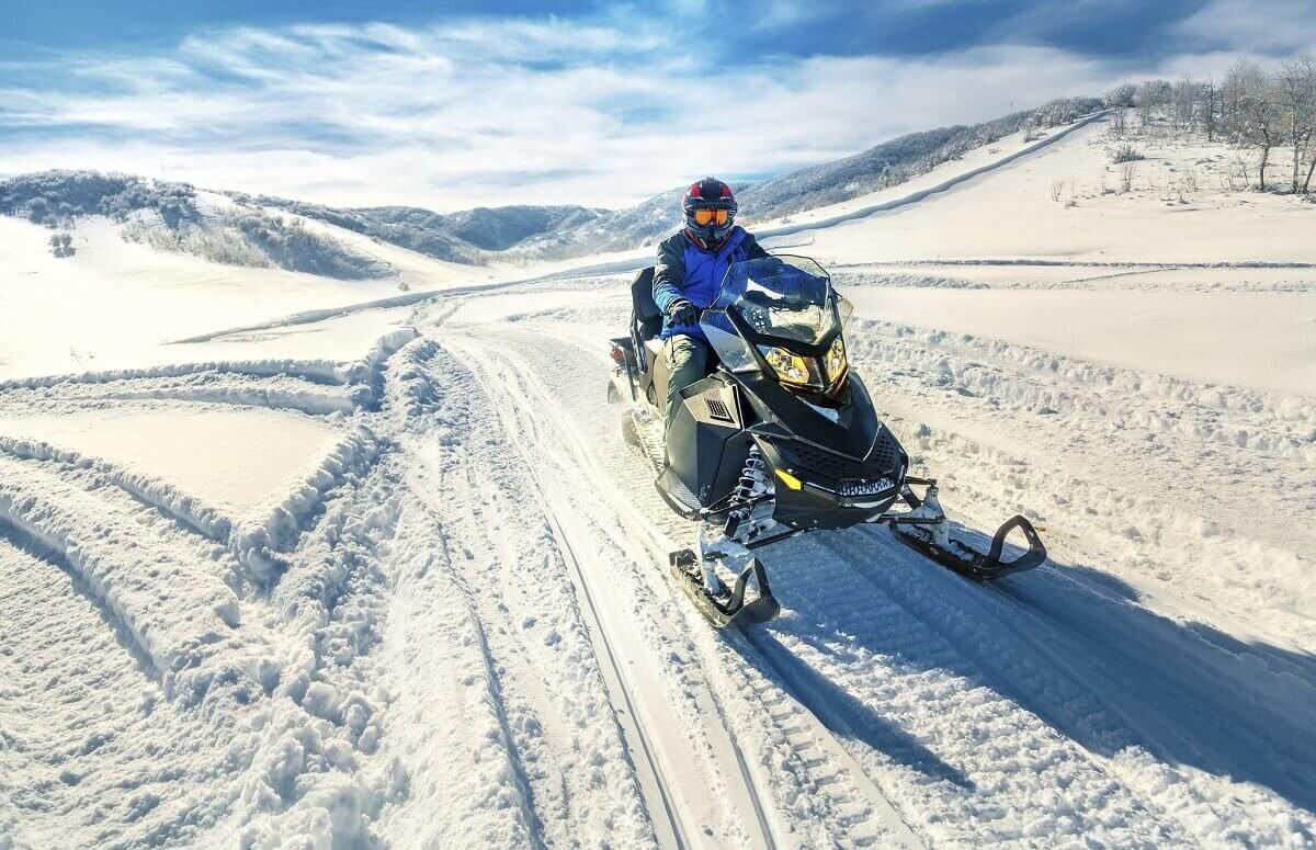 Pojazdy śnieżne - jazda dla 2 osób