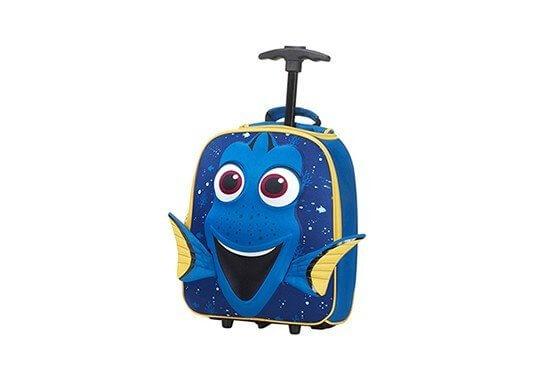 Szkolna walizka na kółkach z wizerunkiem Dory
