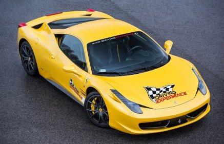 Jazda Ferrari Italia na torze (5 okrążeń)