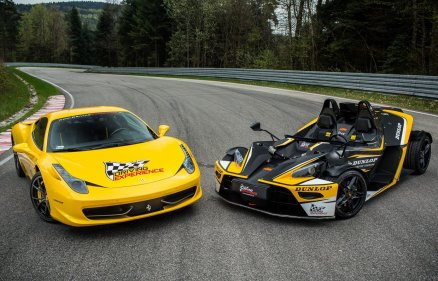Pojedynek Ferrari Italia vs KTM X-Bow