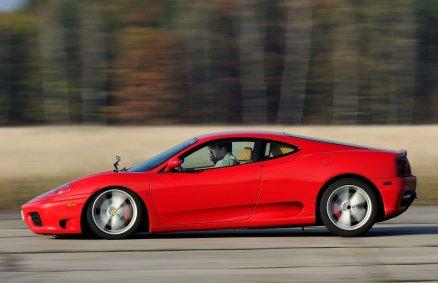 Ferrari Modena - jazda na torze - 8 okrążeń