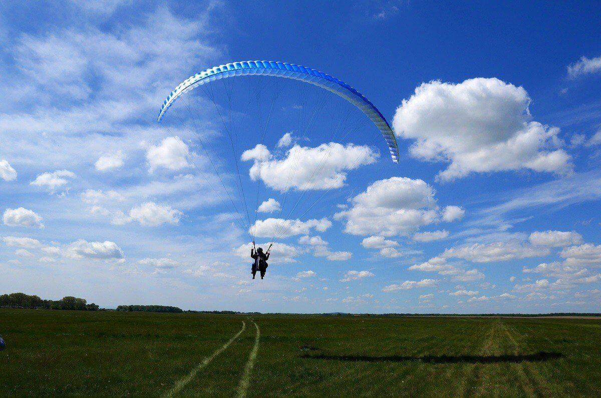 Paralotnia - lot w tandemie we Wrocławiu