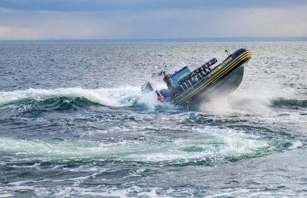 Ekstremalny rejs łodzią typu Rib dla 10 osób