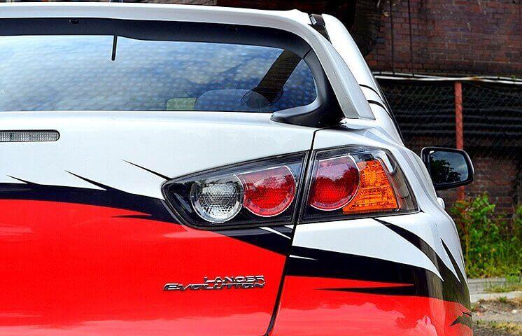 Mitsubishi Lancer Evo - jazda w prezencie