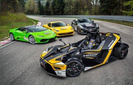 Lamborghini vs Ferrari vs KTM X-Bow vs Nissan GTR