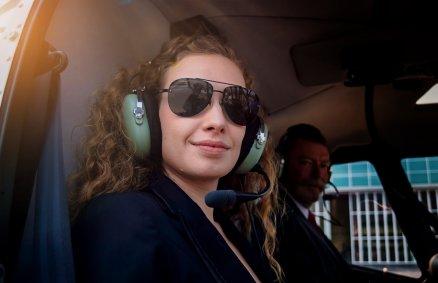 Zaręczynowy lot helikopterem