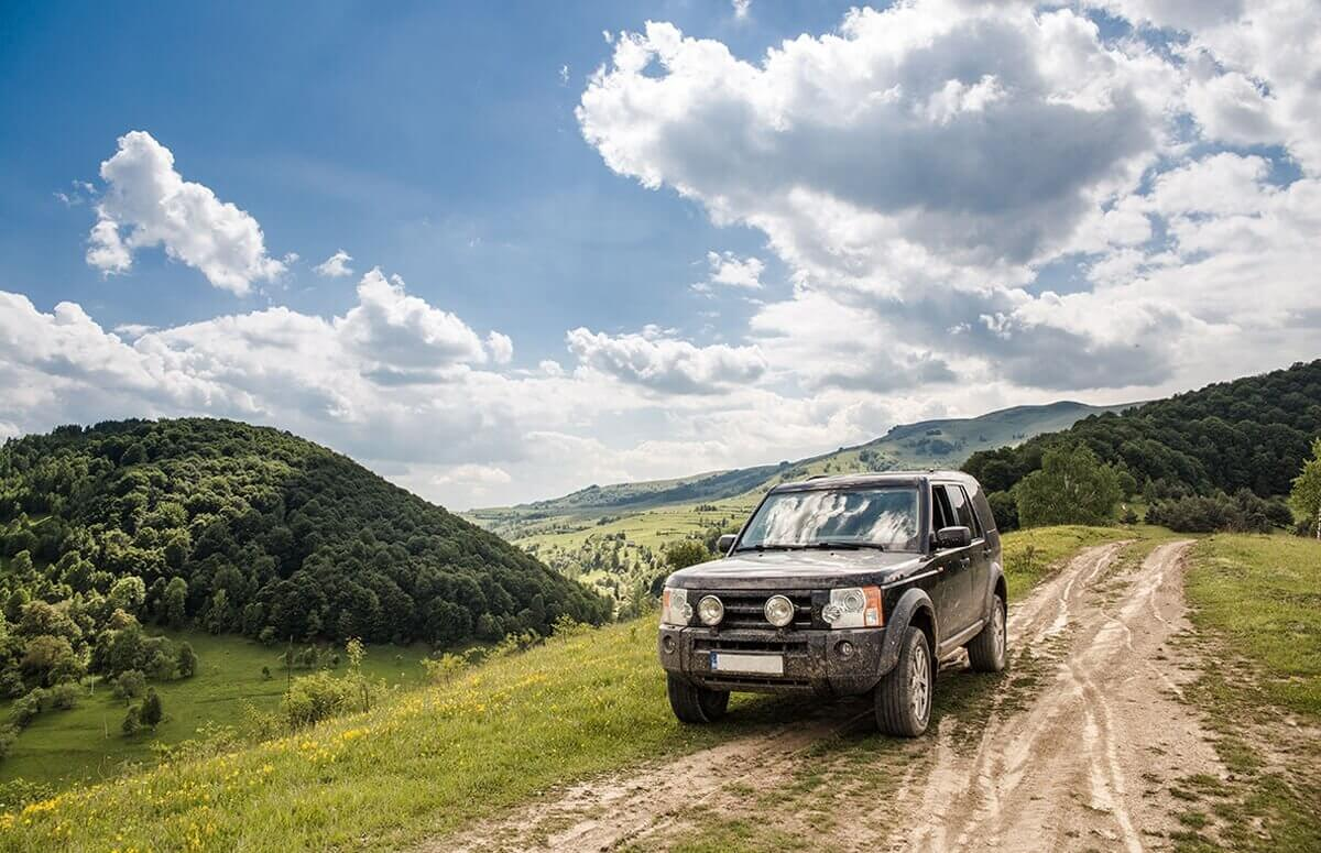Weekend w Sudetach - off road i wyprawa po skarb