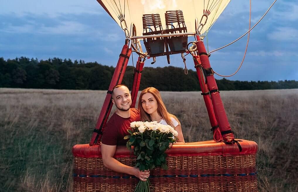 Weekend z podróżą balonem dla Dwojga