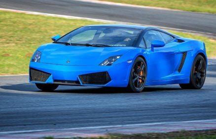 Jazda Lamborghini Gallardo na torze (1 okrążenie)