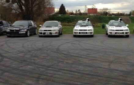 Subaru vs Mitsubishi - Pojedynek na torze (12 km)