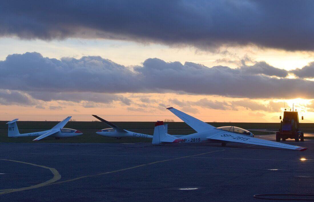 Lot szybowcem nad Częstochową
