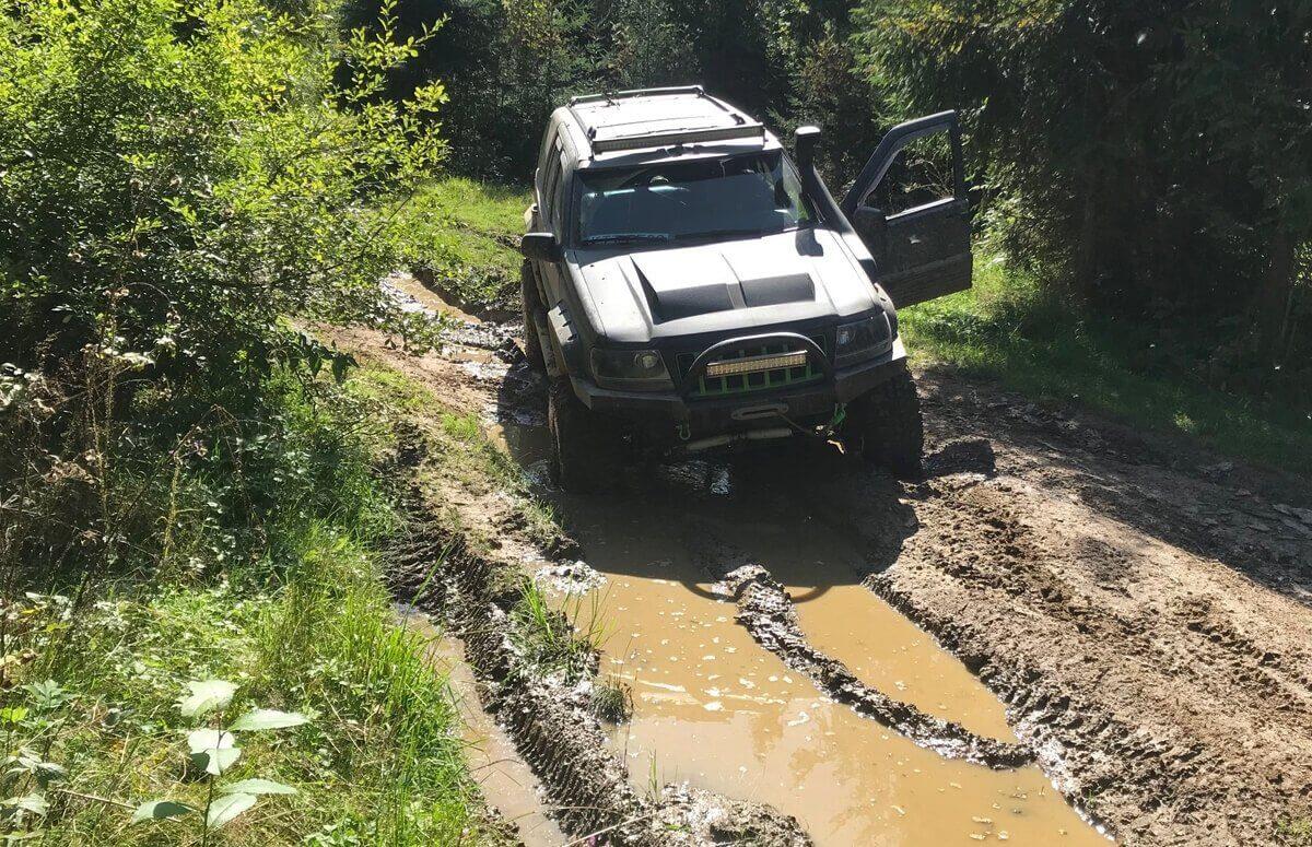 Wyprawa w Tatry samochodem terenowym