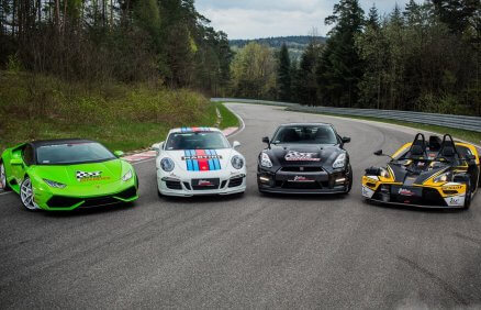 Lamborghini vs Porsche vs KTM X-Bow vs Nissan GTR