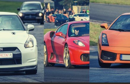 Lamborghini vs Ferrari F430 vs Nissan GTR