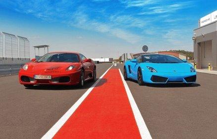 Porównaj jazdę Lamborghini Gallardo oraz Ferrari F430