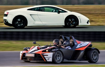 Lamborghini Gallardo vs KTM X-Bow