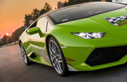 Lamborghini Huracan - Jazda na torze