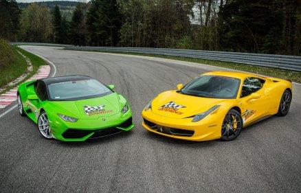 Ferrari vs Lamborghini - Kielce