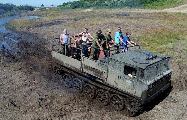 Jazda ATS-59G w terenie