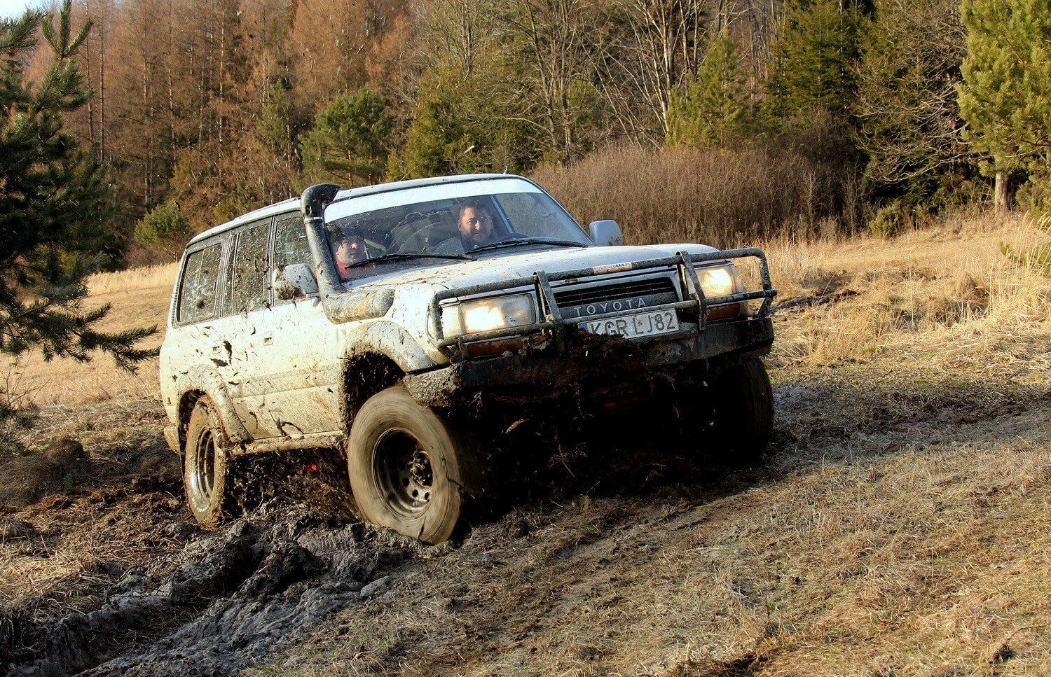 Off-road w Beskidach