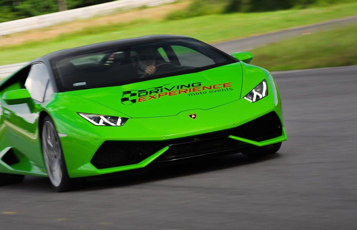 Poprowadź Lamborghini Huracan na torze - Prezent