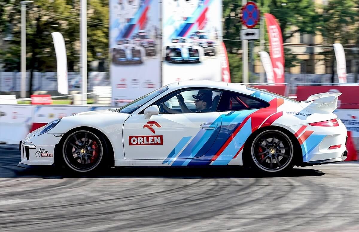 Przejażdżka Porsche
