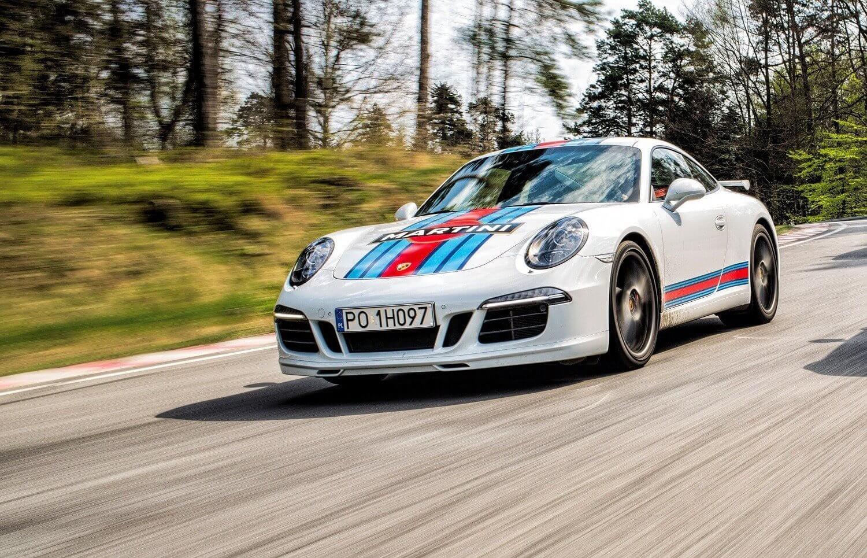 Porsche 911 - jazda na torze