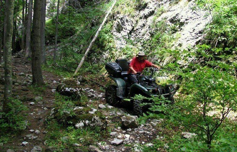Quady - jazda w Kotlinie Jeleniogórskiej
