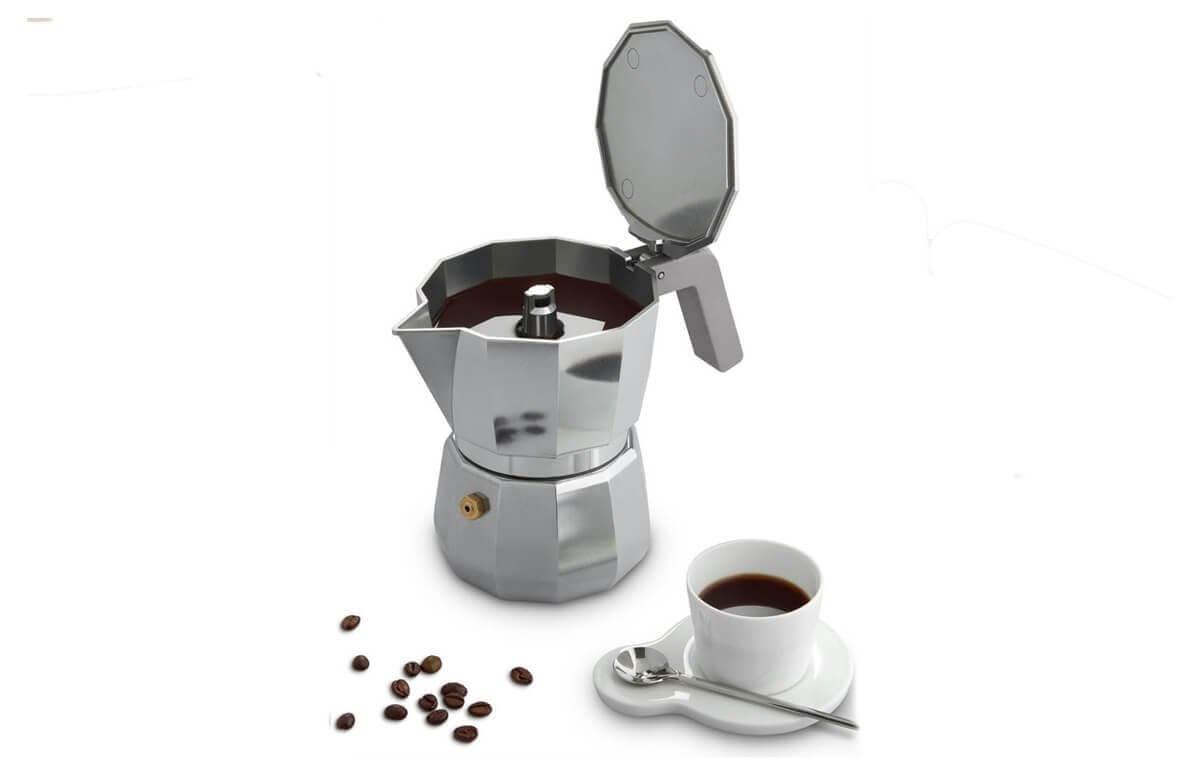 Kawiarka do parzenia wybornej kawy - Moka od Alessi
