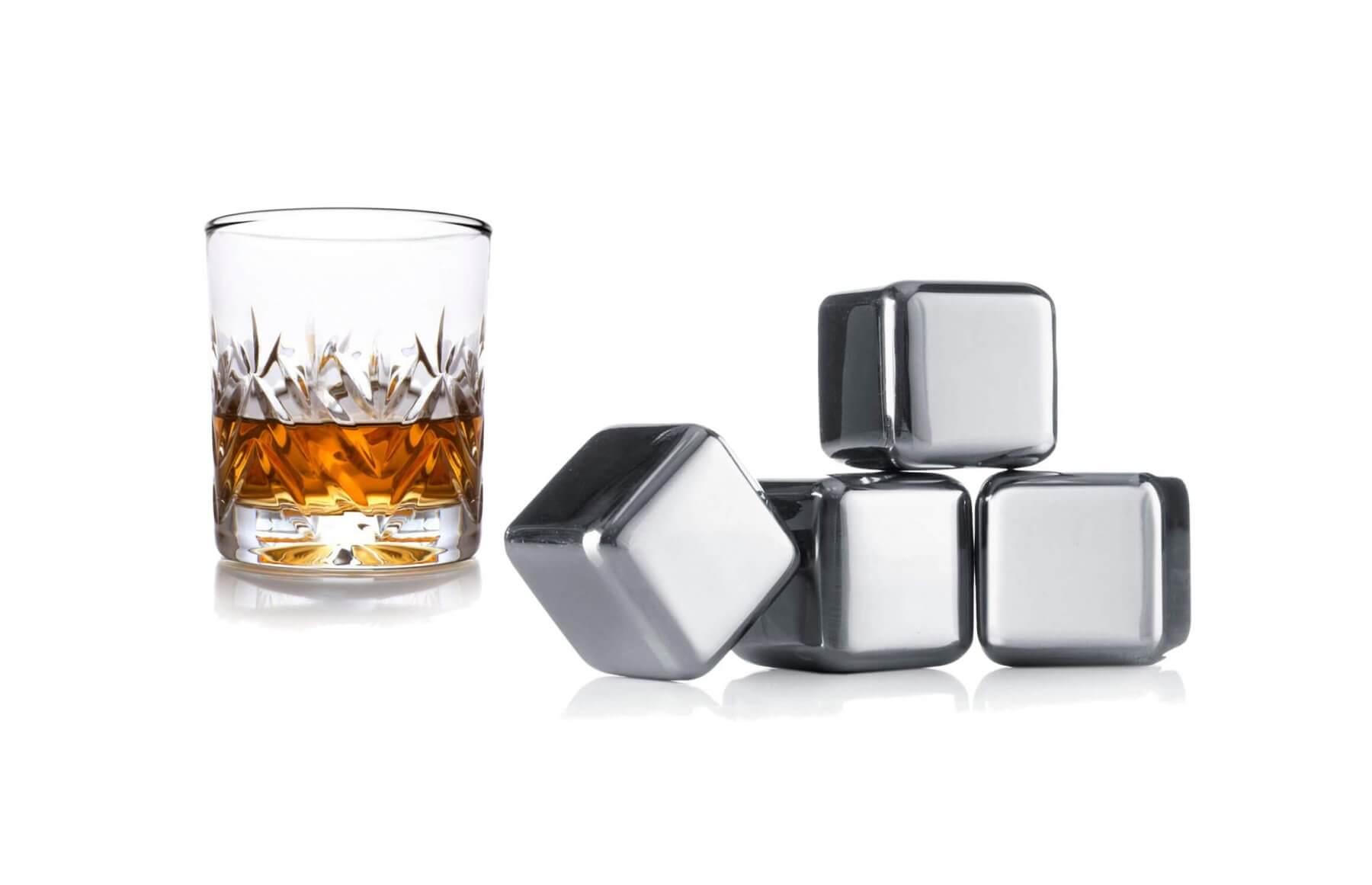 Kostki mrożące do whisky