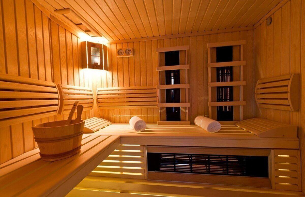 Sauna w hotelu Bukowy Park w Polanicy