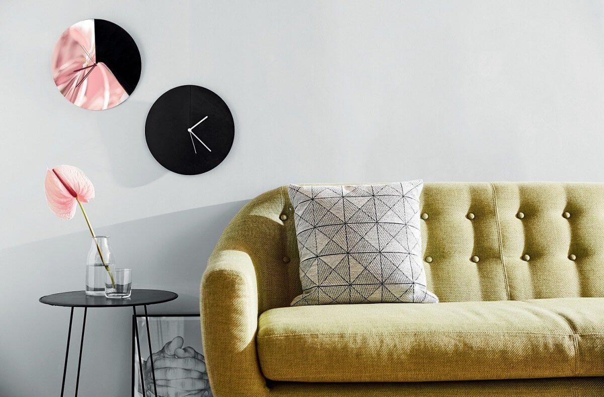 Nowoczesny zegar ścienny Aris | Alessi