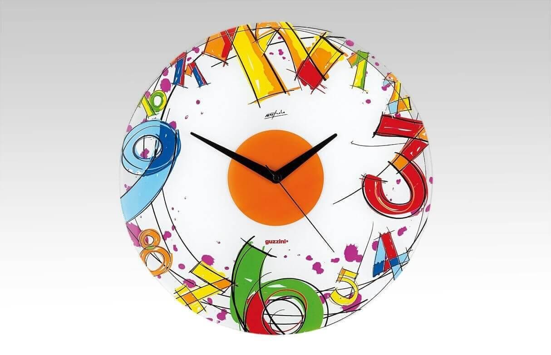 Zegar ścienny Number Guzzini Number
