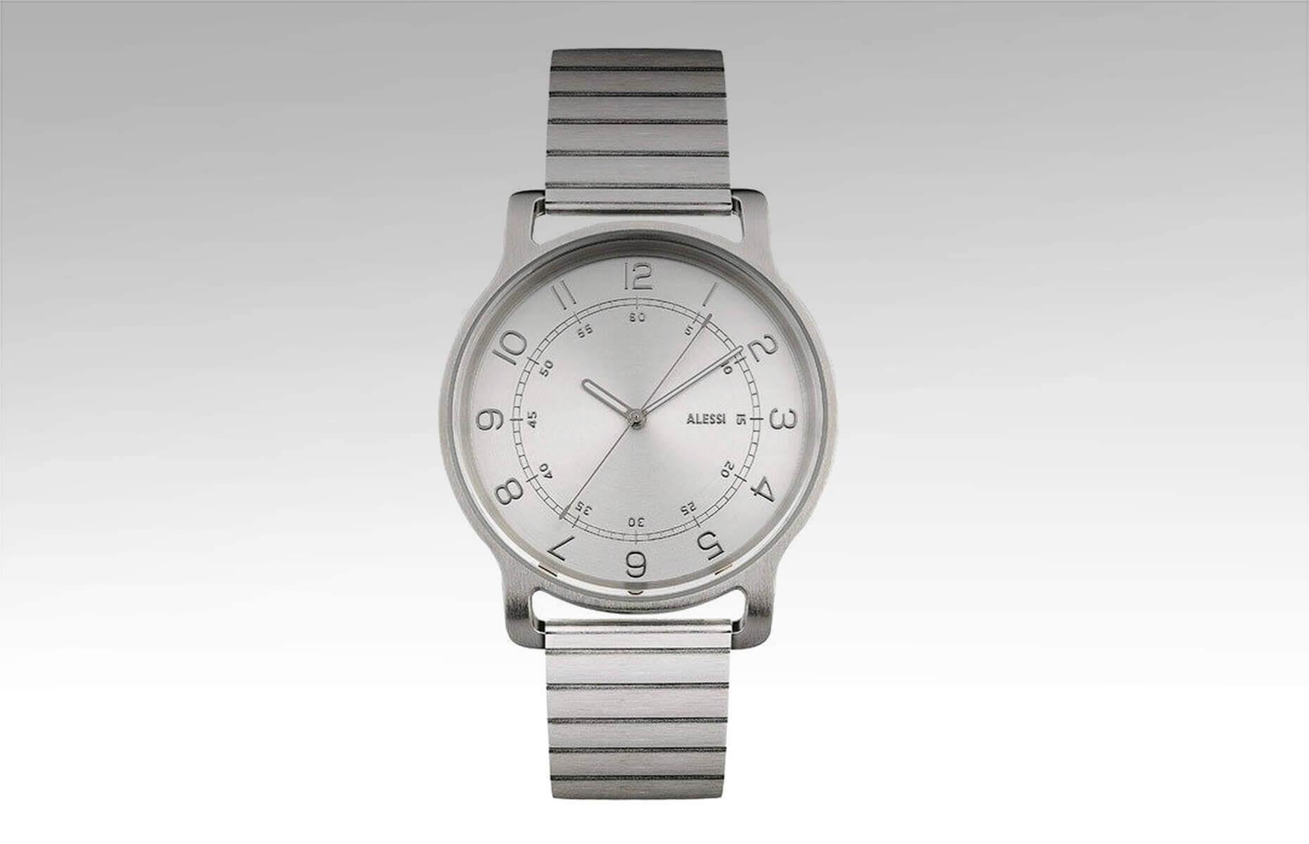1b4e43f796d54d Męski zegarek l'orologio ze stalową bransoletą | Alessi