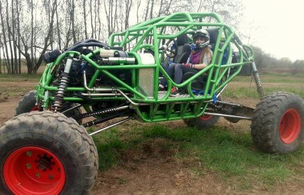Jazda Monster Buggy