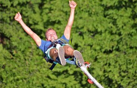 Skok na bungee dla 2 osób